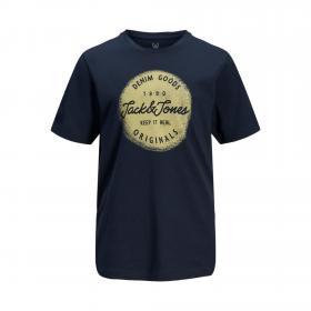 Jack & Jones Camiseta Azul marino 12172450 JORTORINO TEE SS CREW NECK JR NAVY BLAZER