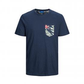 JACK&JONES Camiseta Azul marino 12172456 JORELIPOCKET TEE SS CREW NECK JR NAVY BLAZER