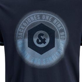 JACK&JONES Camiseta Azul marino 12171680 JCOUNIVERSE TEE SS CREW NECK JR SKY CAPTAIN