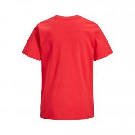 JACK&JONES Camiseta Rojo 12171685 JCOSTALLY TEE SS CREW NECK JR BITTERSWEET