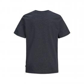 JACK&JONES Camiseta Azul marino 12171685 JCOSTALLY TEE SS CREW NECK JR SKY CAPTAIN