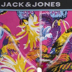 JACK&JONES Boxer Fucsia 12171647 JACSUMMER ANIMALS TRUNKS STS DIVA PINK