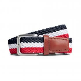 JACK&JONES Cinturón Multicolor 12118114 JACSPRING WOVEN BELT NOOS STRIPE MULTICOLOR