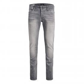 Jack&Jones Jeans slim Gris 12175479 JJIGLENN JJFOX JJ 242 IK ESP GREY DENIM