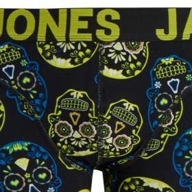 JACK&JONES Boxer Amarillo 12171602 JACCOLORFULL SKULL TRUNKS STS BLAZING YELLOW
