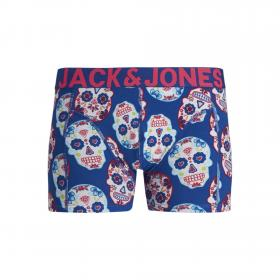 JACK&JONES Boxer Azul 12171602 JACCOLORFULL SKULL TRUNKS STS SURF THE WEB