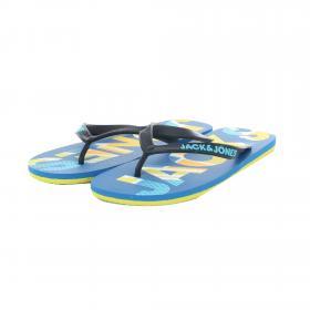JACK&JONES Chancletas Azul 12169410 JFWLOGO PRINT PACK FLIP FLOP IMPERIAL BLUE