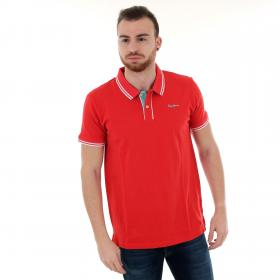 Pepe Jeans Polo Rojo PM541206 MITCH - 240 FRANCOIS RED