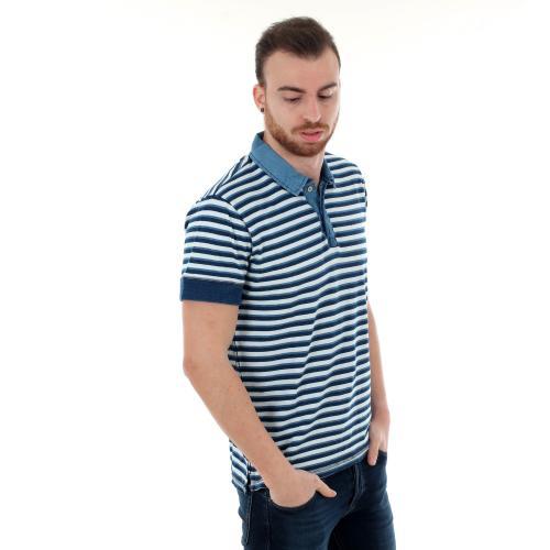 Pepe Jeans Polo slim Azul PM541217 FELIX561 INDIGO