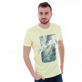 Pepe Jeans Camiseta Amarillo PM506383 OWAIN - 020 LIME YELLOW