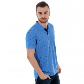 Pepe Jeans Polo slim Azul PM541210 SERGIO541 FRENCH