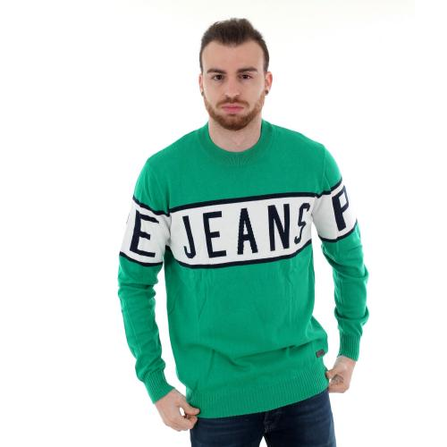 Pepe Jeans Jersey Verde PM701856 DOWNING671 WOODS