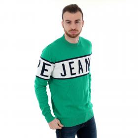 Pepe Jeans Jersey Verde PM701856 DOWNING - 671 WOODS