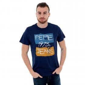 Pepe Jeans Camiseta Azul marino PM507134 GROOT RO 586 CHATAM BLUE