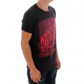 PEPE JEANS Camiseta Burdeos DAVIS PM506822 499 DARK WINE