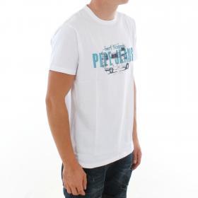PEPE JEANS Camiseta Blanco MASON PM507164 802 OPTIC WHITE