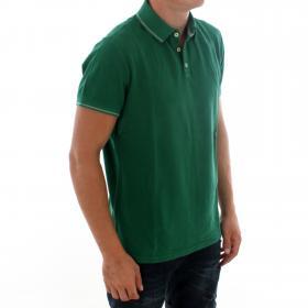 PEPE JEANS Polo slim Verde FRASIER PM541223 664 SHERWOOD