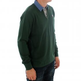PEPE JEANS Polo Verde oscuro TAO LS PM541301 682 FOREST GREEN