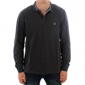 PEPE JEANS Polo Gris oscuro TERENCE LS PM541303 985 INFINITY