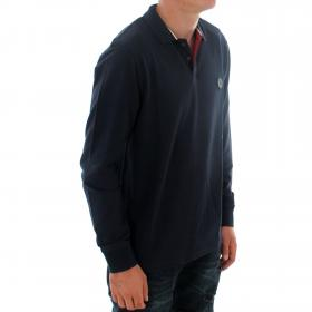 PEPE JEANS Polo Azul marino TERENCE LS PM541303 594 DULWICH