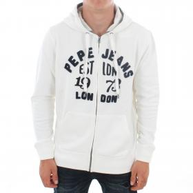 PEPE JEANS Sudadera Blanco LOPE PM581660808 MOUSSE