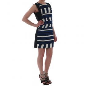 Rinascimento Vestido Azul marino