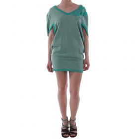 Rinascimento Vestido Azul turquesa LEMME_ACQUA_VERDE