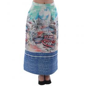 Rinascimento Falda Estampado