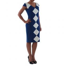 Rinascimento Vestido Azul