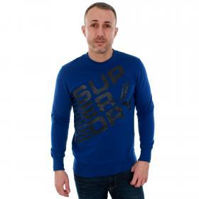 Superdry Sudadera Azul M2008XNF5 REAL BLUE
