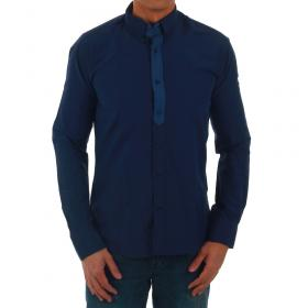 SZ Collection Man Camisa Azul marino