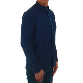 SZ Collection Man Camisa Azul marino