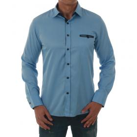 SZ Collection Man Camisa Azul