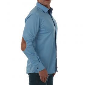 SZ Collection Man Camisa Azul