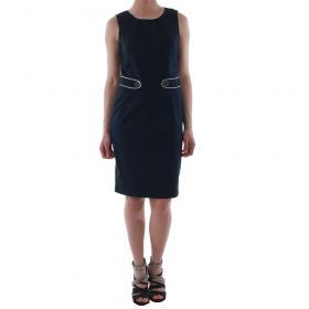 SZ Collection Woman Vestido Azul marino WYQ_1243_NAVY