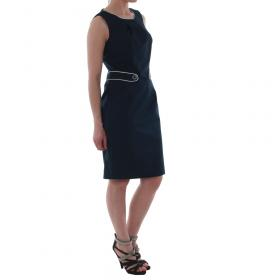 SZ Collection Woman Vestido Azul marino WYQ_1243_NAVY