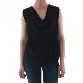 SZ Collection Woman Camiseta Negro WCS_1234_BLACK