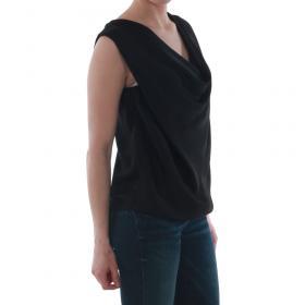SZ Collection Woman Camiseta Negro