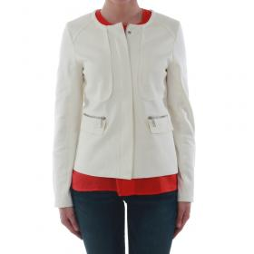 SZ Collection Woman Cazadora Blanco roto