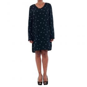 Vero Moda Vestido Azul marino 10191185 VMSISSY 3/4 MINI DRESS D2 LCS NAVY BLAZER
