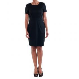 Vero Moda Vestido Negro 10181717 VMMAYA SS O-NECK SHORT DRESS NOOS BLACK