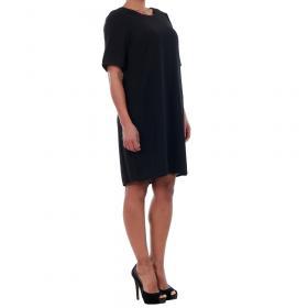 Vero Moda Vestido Negro 10183704 VMGABBY 2/4 SHORT DRESS NOOS BLACK