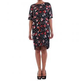 Vero Moda Vestido Negro 10197062 VMISOLDE GABBY 2/4 DRESS D2-1 BLACK/ISOLDE PRI