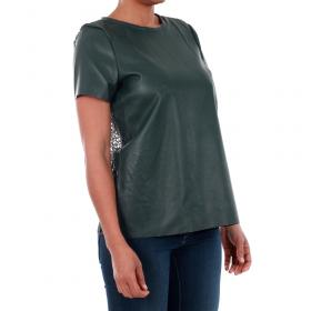 Vero Moda Camiseta Verde oscuro