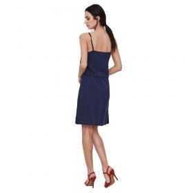 Vero Moda Vestido Azul marino