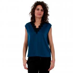 Vero Moda Camiseta Azul