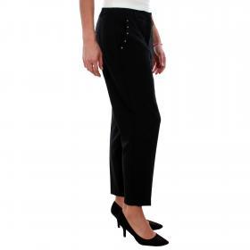 Vero Moda Pantalón Negro 10207379 VMSANDY SELMA NW PANT BLACK
