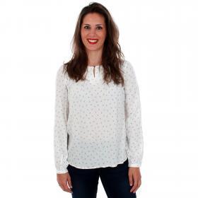 Vero Moda Camisa Blanco 10210410 VMEFFIE LS TOP SNOW WHITE