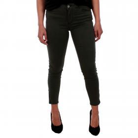 Vero Moda Jeans slim Verde oscuro 10202102 VMSEVEN SHAPE MR S ANK ZIP JEANS NOOS L32