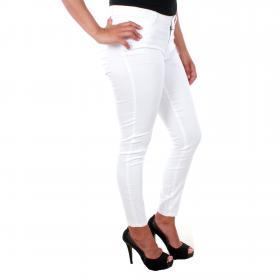 Vero Moda Jeans Blanco 10211618 VMJULIA FLEX IT MR SLIM JEGGING BRIGHT WHITE L32